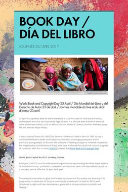 BOOK DAY / DÍA DEL LIBRO