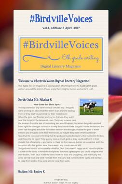 #BirdvilleVoices