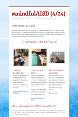 #mindfulAISD (4/24)