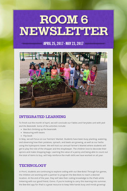 Room 6 Newsletter
