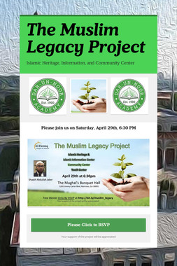The Muslim Legacy Project