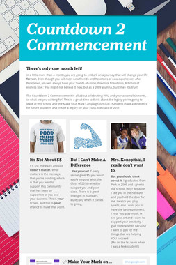 Countdown 2 Commencement