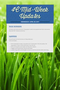 4C Mid-Week Updates