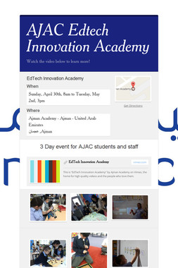 AJAC Edtech Innovation Academy
