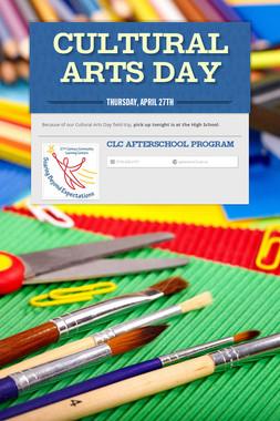 Cultural Arts Day