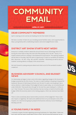 Community Email