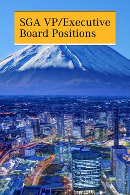 SGA VP/Executive Board Positions