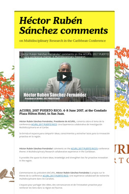 Héctor Rubén Sánchez comments