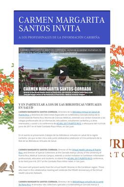CARMEN MARGARITA SANTOS INVITA