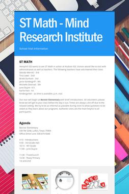 ST Math - Mind Research Institute