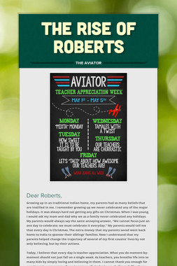 THE RISE OF ROBERTS