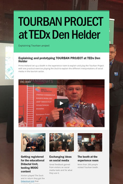 TOURBAN PROJECT at TEDx Den Helder