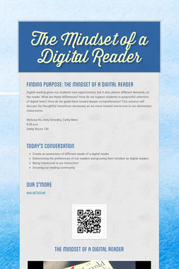 The Mindset of a Digital Reader