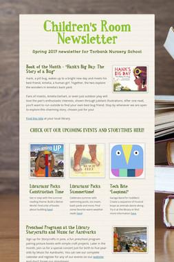 Children's Room Newsletter