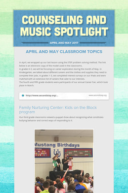 Counseling and Music Spotlight