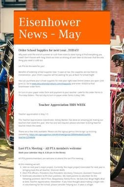 Eisenhower News - May