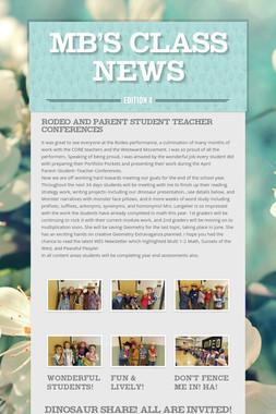 MB's Class News