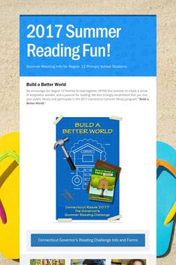 2017 Summer Reading Fun!