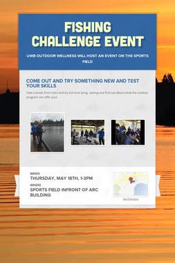 Fishing Challenge Event