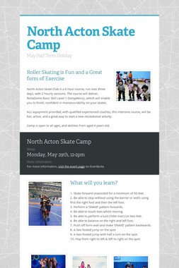 North Acton Skate Camp