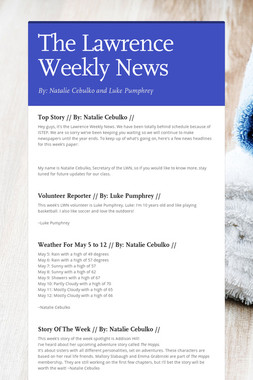The Lawrence Weekly News