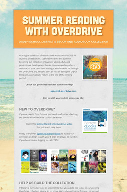 Summer Reading with OverDrive