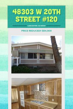 48303 W 20th Street #120