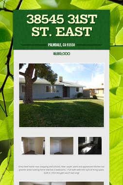 38545 31st St. East