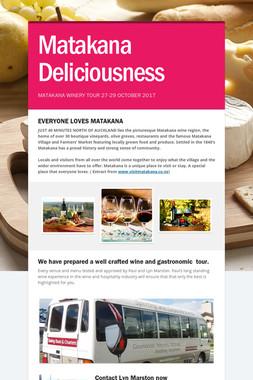 Matakana Deliciousness