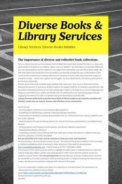 Diverse Books & Library Services