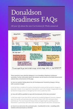 Donaldson Readiness FAQs