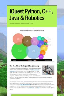 IQuest Python, C++, Java & Robotics