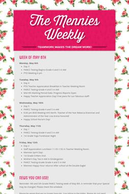 The Mennies Weekly
