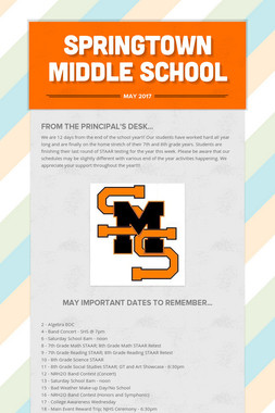 Springtown Middle School