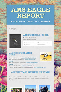 AMS Eagle Report