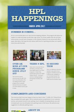HPL Happenings
