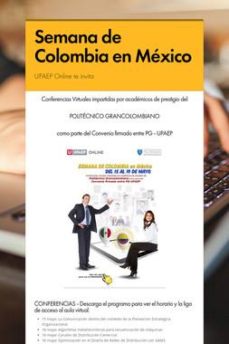 Semana de Colombia en México