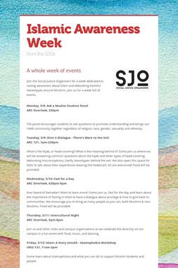 Islamic Awareness Week