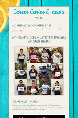 Career Center E-news