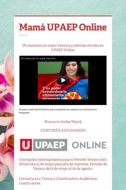 Mamá UPAEP Online