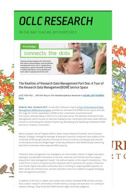 OCLC RESEARCH