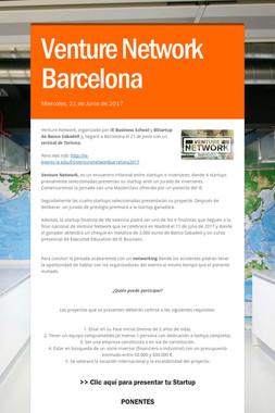 Venture Network Barcelona