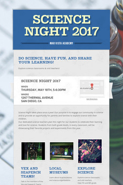 Science Night 2017