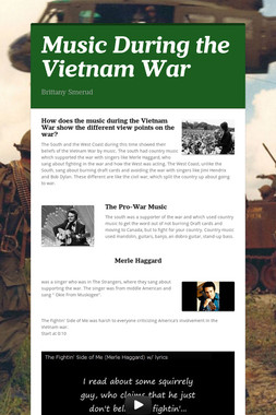 Music During the Vietnam War