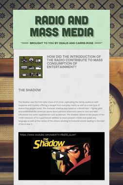 Radio and Mass media