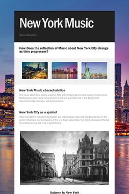 New York Music