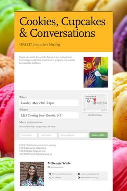 Cookies, Cupcakes & Conversations