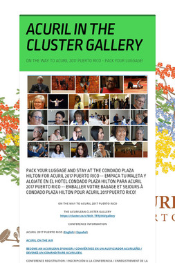 ACURIL IN THE CLUSTER GALLERY