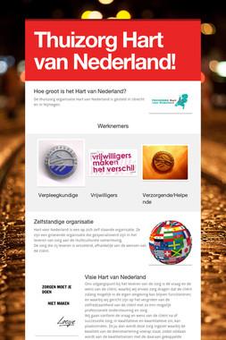Thuizorg Hart van Nederland!
