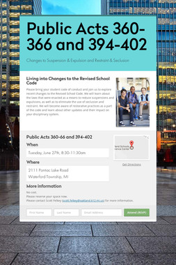 Public Acts 360-366 and 394-402